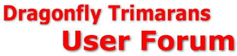 logo: Dragonfly Trimarans User Forum